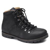 Birkenstock Jackson Black Lace Up Boots