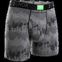 Men's 2UNDR Eco Shift Forest Boxer Brief