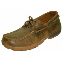 Men's Twisted X Driving Moccasins Shoe Bomber/Bomber