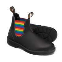 Blundstone 2105 Original Black with Rainbow Elastic