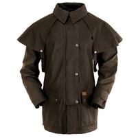 """Outback Trading """"Bush Ranger"""" 3/4 Oilskin Duster Coat"""