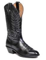 Men's Boulet Black Dress Toe Western Boot