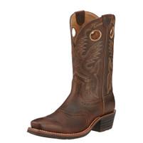 Ariat Men's Heritage Roughstock Square Toe Boot