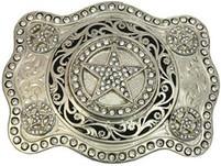 Montana Silversmiths Cubic Zirconia Stars Attitude Buckle