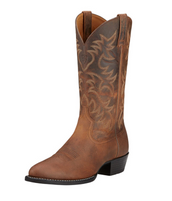Ariat Men's Heritage Brown R Toe Western Boot