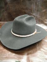 Larry Mahan 5X Brindle Black Felt Western Hat