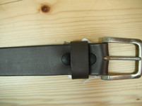 Keldon Brown Leather Belt