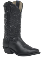 Canada West Men's Black with Man-made Upper and Sole