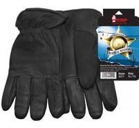 Watson Winter Range Rider Black Deerskin Glove
