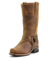 Men's Frye Dark Brown 12R Harness Boot