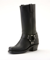Women's Frye Black 12R Harness Boot