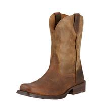 Ariat Men's Rambler Square Toe Western Boot Earth/ Brown Bomber