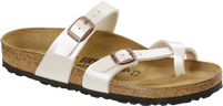 Birkenstock Mayari Pearl White Birko-Flor Sandal