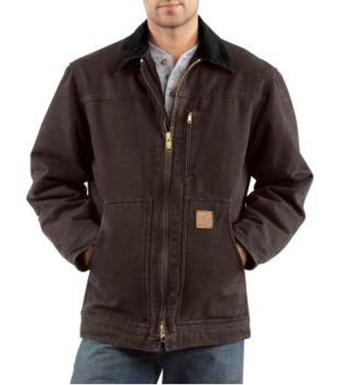Men's Carhartt Sandstone Ridge Coat/Sherpa Lined
