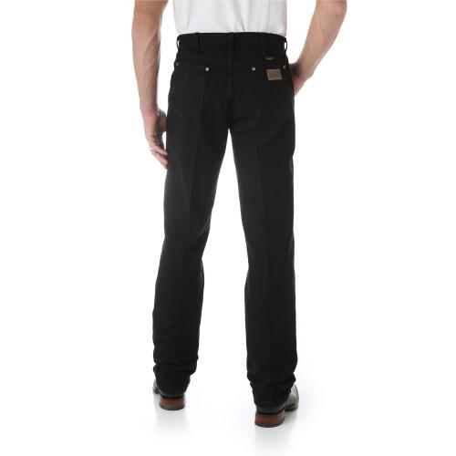 Men's Wrangler Black Original Fit ProRodeo Boot Cut Jeans