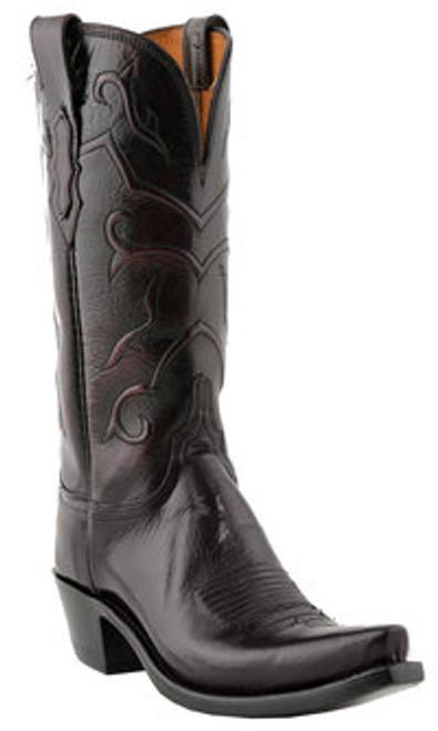 37bb0fe5664 Women's Lucchese Black Cherry Snip Toe Western Boot