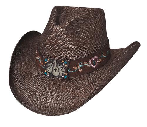 """Bullhide """"Keep it Gypsy"""" Straw Hat"""