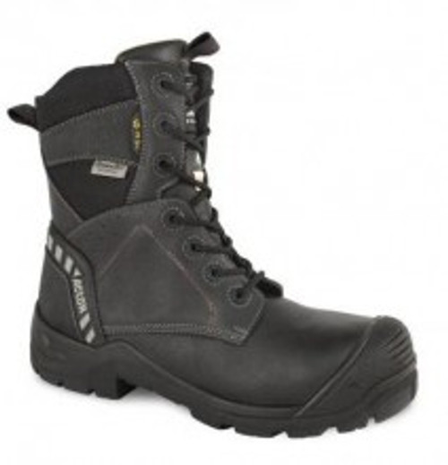 """Men's Acton 8"""" Waterproof Metal Free 4E Wide Leather Lined CSA Work Boot"""