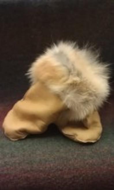 Coyote Fur Mittens