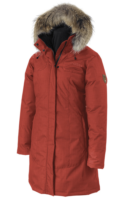 Women's Quartz Co. Red Kimberly Down Filled Coat