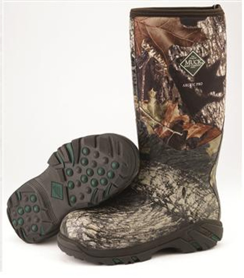 28a6a9502ab42 Muck Arctic Pro Camo Mossy Oak -50 Celsius Rubber Neoprene Boot ...