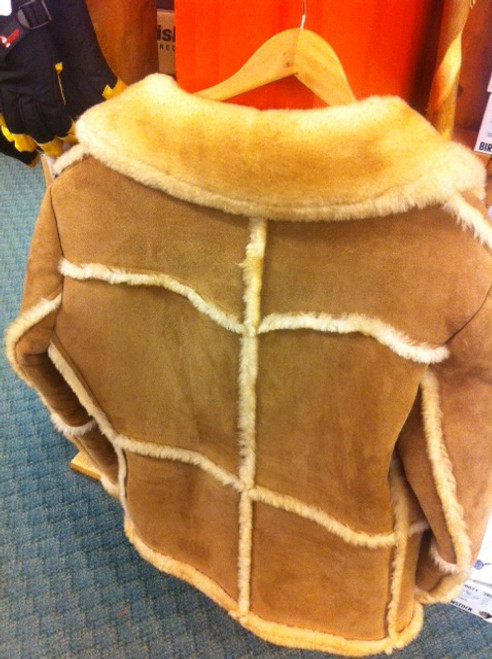 Full-Length Sheepskin Jacket