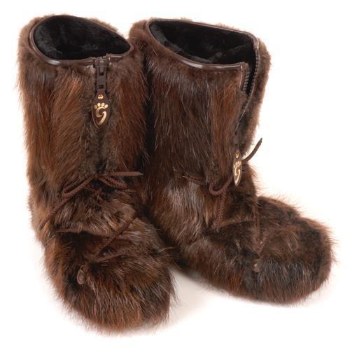 Grenier Beaver Fur Boots