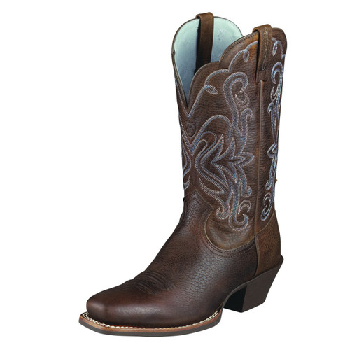 Women's Ariat Legend Oiled Brown Rowdy Western Boot