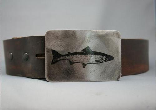 Gestalt Stainless Steel Fish Belt Buckle