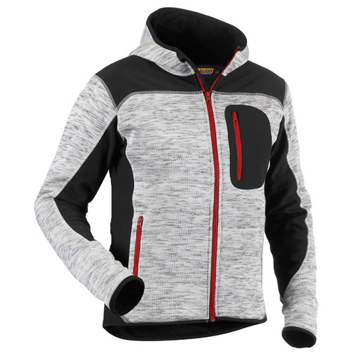 Men's Blaklader Black and Grey Performance Hoodie