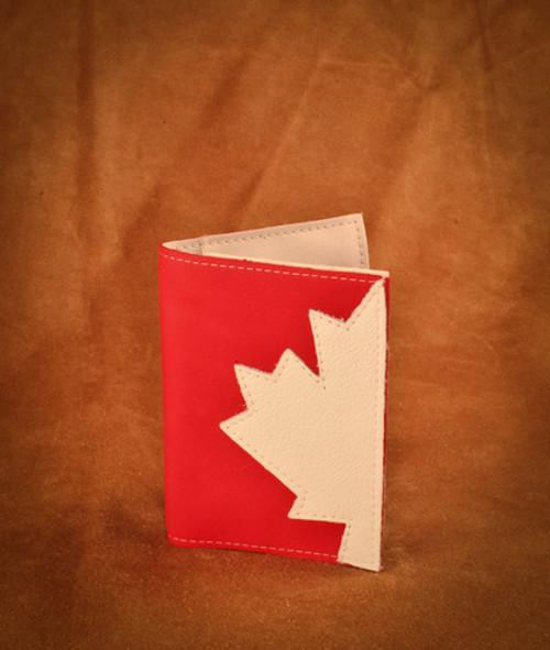 Hides in Hand Passport Holder