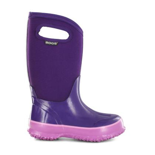 Bogs Kids' Solid Classics Grape Rated -30