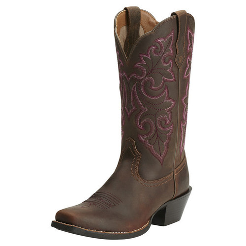 Women's Ariat Round-Up Square Toe Western Boot