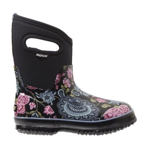 Women's Bogs Classic Winter Blooms Mid Winter Boot