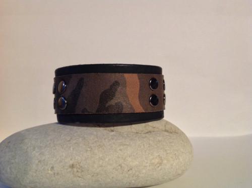 CEOriginals Mens leather camo cuff
