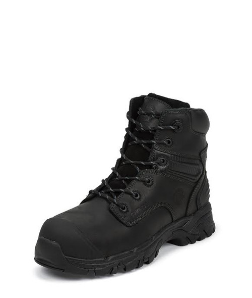 "Men's Justin 6"" Waterproof Black CSA Safety Boot"