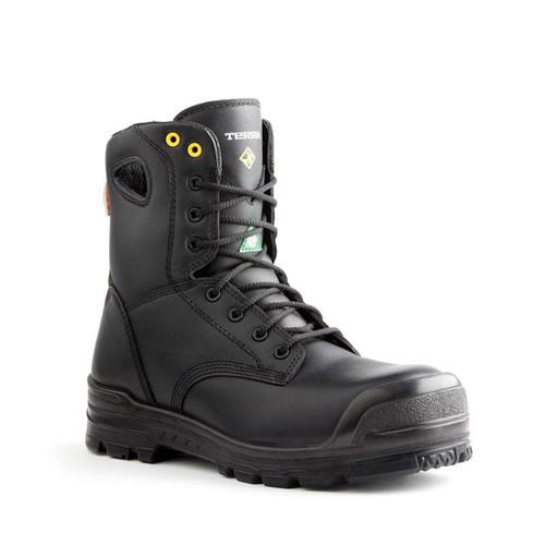 Men's Terra Metal Free Argo Black Leather CSA Work Boot