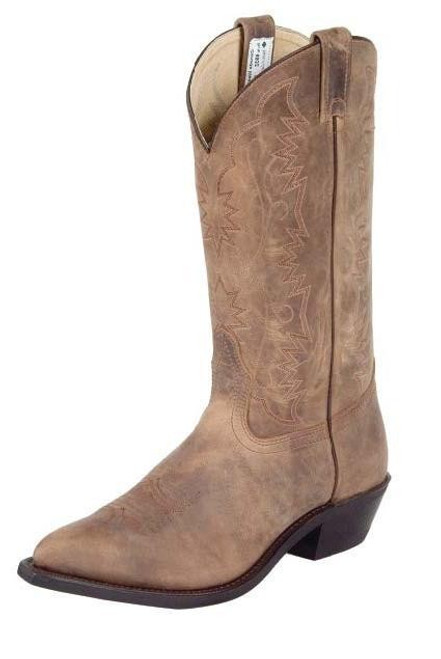 Canada West Bullrider Crazy Horse Western Boot Pointed Toe