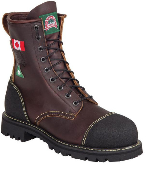 "Men's Canada West 8"" 34317 CSA Safety Boot"