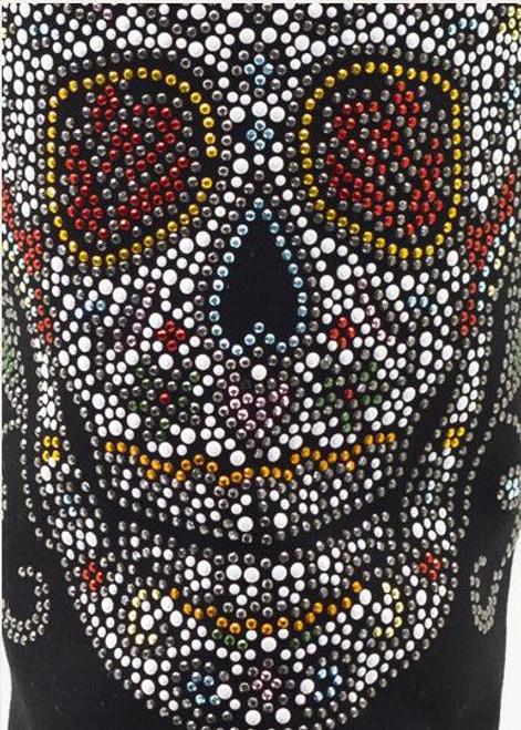 BootRoxx Sugar Skull Boot Cover