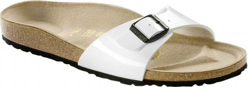 Birkenstock Madrid Patent White Sandal