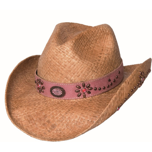 """Bullhide """"Daughter of the West"""" Kid's Straw Hat"""