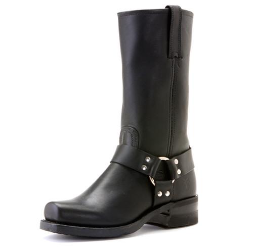 Men's Frye Black 12R Harness Boot