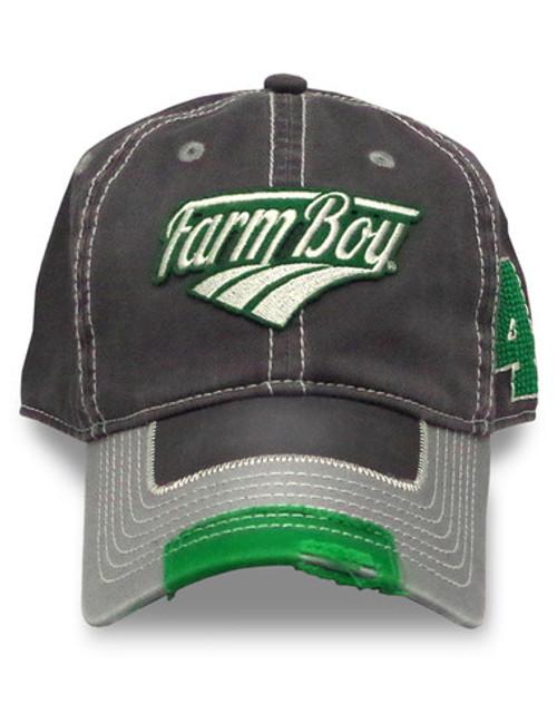 "Farm Boy ""41"" Green Baseball Cap"