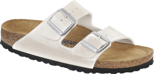 Birkenstock Arizona Magic Galaxy White Soft Footbed