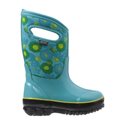 Kids' Bogs Watercolour Turquoise Multi Winter Boot -34C