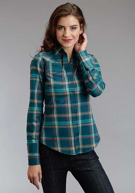 Women's Roper Brushed Twill Ombre Longsleeve Shirt