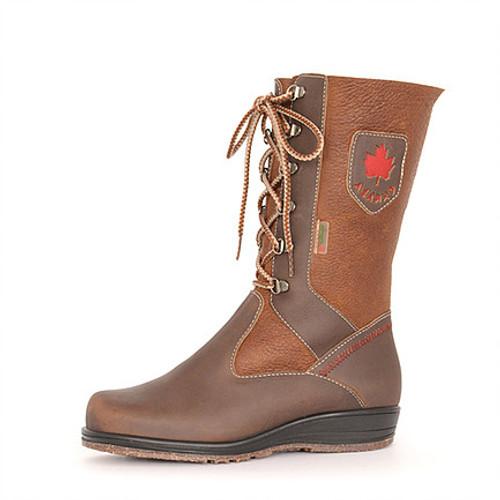 Women's Martino Canadian Highboot Brown Winter Boot