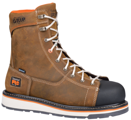 Men's Timberland PRO Gridworks Waterproof Ironworker Safety Boot FREE SHIPPING