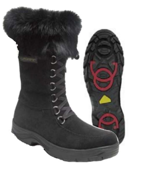 "Women's Barbo Flipgripz ""Jill"" Lace and Zipper Winter Boot"